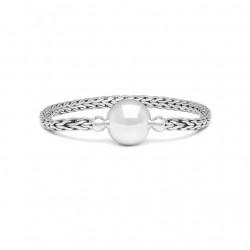 Buddha to Buddha 002-C+ Batas Sphere Bracelet Silver MAAT 17cm - 44391