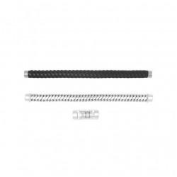 Buddha to Buddha 008BL-E+ Ben Customized Set Silver & Leather Black  MAAT 20cm - 45884