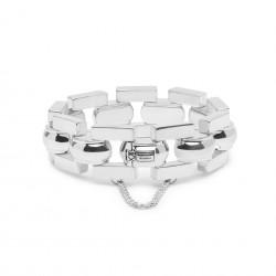 Buddha to Buddha 040-E Batul Bracelet Silver MAAT 19cm - 44622
