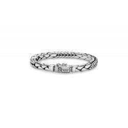 Buddha to Buddha 066-E George Mix Bracelet Silver MAAT 19cm - 40991
