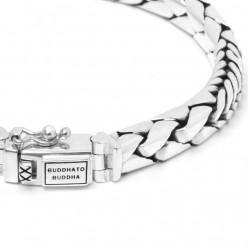 Buddha to Buddha 066-F George Mix Bracelet Silver MAAT 21cm - 40992