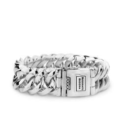 Buddha to Buddha 080-G Chain Big Bracelet Silver maat 23cm - 45400