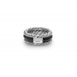 Buddha to Buddha 103 Ketut Onyx Ring Silver MAAT 17 - 42455