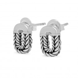 Buddha to Buddha 109 Barbara Link Earrings Silver - 45765