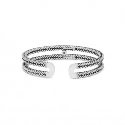 Buddha to Buddha 115-E Barbara Link Cuff Bracelet Silver MAAT 19cm - 45794