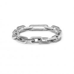 Buddha to Buddha 116-D Barbara Link Bracelet Silver MAAT 18cm - 40412