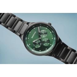 BERING Classic brushed black horloge 40mm - 46922