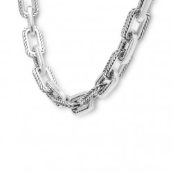 Buddha to Buddha 120 Barbara Necklace Silver MAAT 45cm - 40395