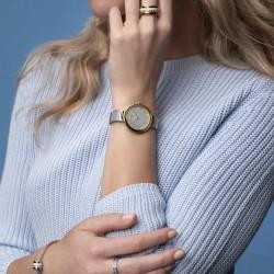 Bering Horloge Classic polished gold 34mm - 48304