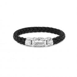Buddha to Buddha 126BL-F Mangky Small Leather Bracelet Black MAAT 21cm - 46598