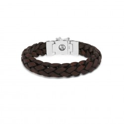 Buddha to Buddha 127BR-G Mangky Leather Bracelet Brown MAAT 23cm - 46603