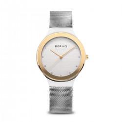 Bering Classic polished silver horloge 34mm - 46640