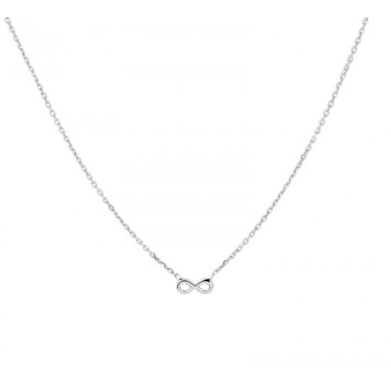 Collier infinity 1,0 mm 36 + 4 cm - 47108
