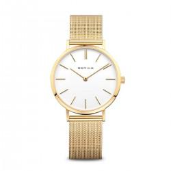 BERING Classic polished gold horloge 34mm - 43547