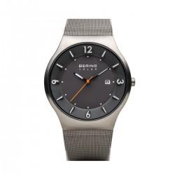 BERING Solar brushed grey horloge 40mm - 43441