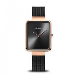 Bering Classic polished brushed rose gold horloge 28mm - 46646