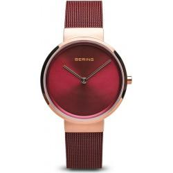 Bering Classic polished brushed rose gold horloge 31mm - 45528