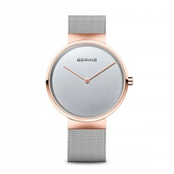 BERING Classic polished rose gold horloge 39mm - 43445