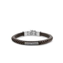 Buddha to Buddha 162BL-E Komang Small Leather Bracelet Brown MAAT 19cm - 44826