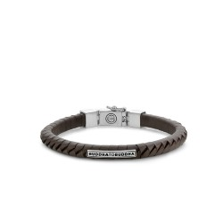 Buddha to Buddha 162BL-F Komang Small Leather Bracelet Brown MAAT 21cm - 41845
