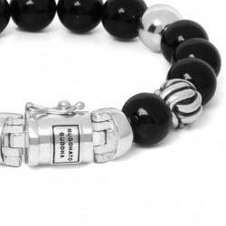 Buddha to Buddha 188ON-F Spirit Bead Onyx Bracelet MAAT 21cm - 43282