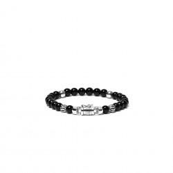 Buddha to Buddha 189ON-G Spirit Bead Mini Onyx Bracelet MAAT 23cm - 44635