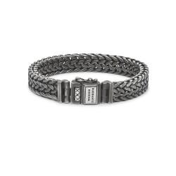 Buddha to Buddha 192BRS-F Julius Black Rhodium Bracelet Silver MAAT 21cm - 45262