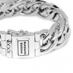 Buddha to Buddha 211-E Nathalie Small Bracelet Silver MAAT 19cm - 42358