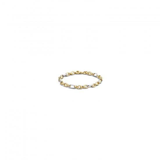 BLUSH Armband Geel en Witgoud 2170BGO MAAT 18cm - 47118
