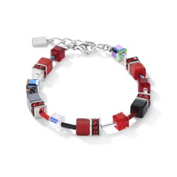 Coeur de Lion Armband rood hematiet - 46907