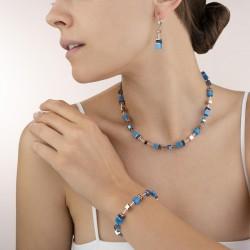 Coeur de Lion oorbellen blauw - 45306