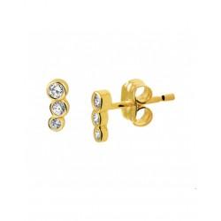 14krt gouden oorbellen - 41964