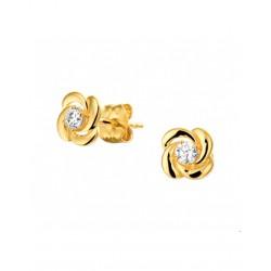 14krt gouden oorbellen - 41966