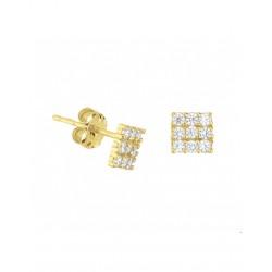 14krt gouden oorbellen - 41967