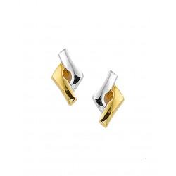14krt gouden oorbellen - 41973