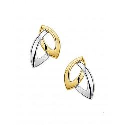 14krt gouden oorbellen - 41977