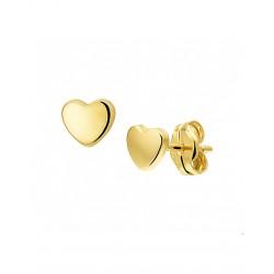 14krt gouden oorbellen - 41989