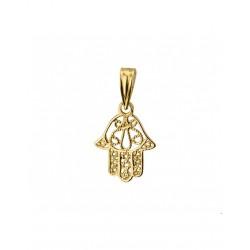 Gouden Hanger Fatima hand - 42075