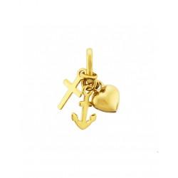 Gouden Hanger Geloof, Hoop en Liefde - 42082