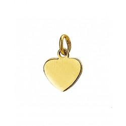 14krt gouden graveer hanger - 42086