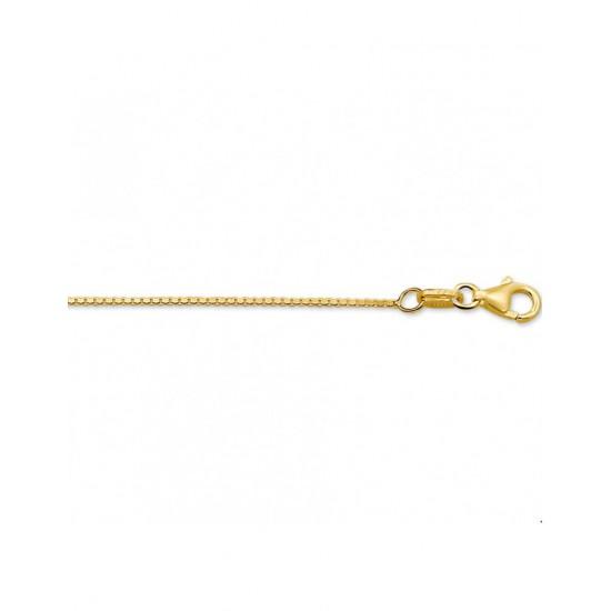 Gouden Collier venetiaans 45cm - 42130