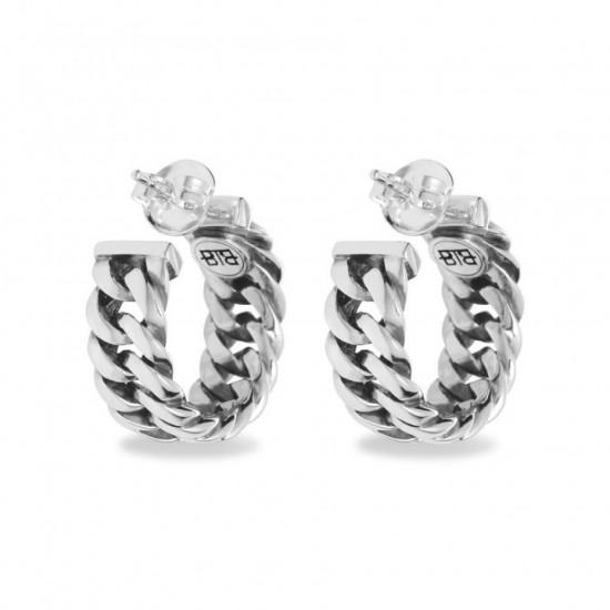 Buddha to Buddha 432 Chain Earring Silver - 43251