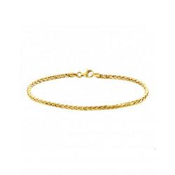 Gouden Armband vossestaart 18,5 cm - 44794