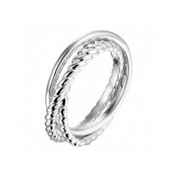 3 in 1 ring zilver 925 maat 19 - 44859