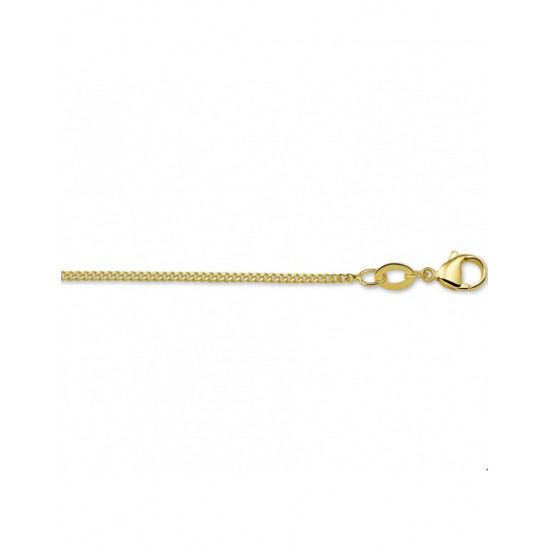 Goldplated Collier gourmet 42cm - 45020