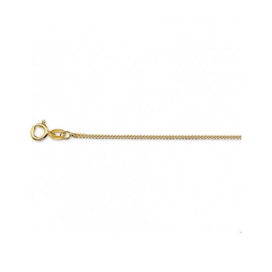 14krt gouden collier 42cm - 45560