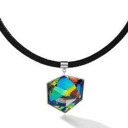 Coeur de Lion Ketting Swarovski® Crystals & mesh veelkleurig - 42869