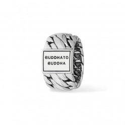 Buddha to Buddha 490 Ben Ring Silver MAAT 18 - 40912