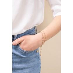 & anne Bracelet Heart Chain Gold plating - 47621