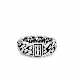 Buddha to Buddha 601 Nathalie Small Silver Ring MAAT 16 - 40404